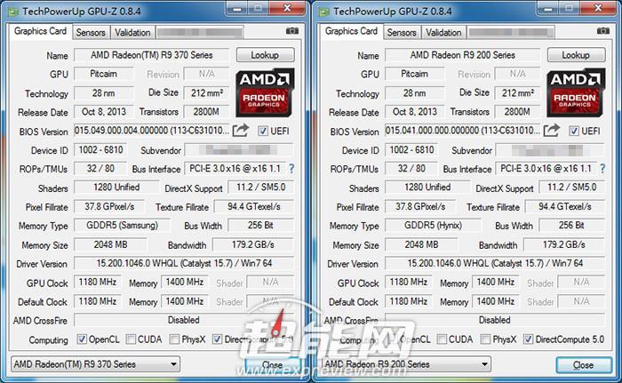Radeon R9 370X GPU-Z Leak