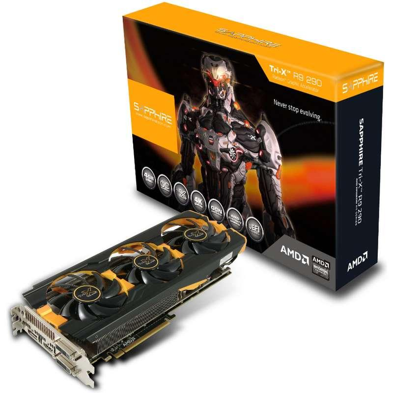 Sapphire Radeon R9 290 TRI-X OC 4 GB
