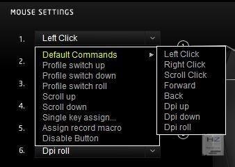2.- Asignación de botones