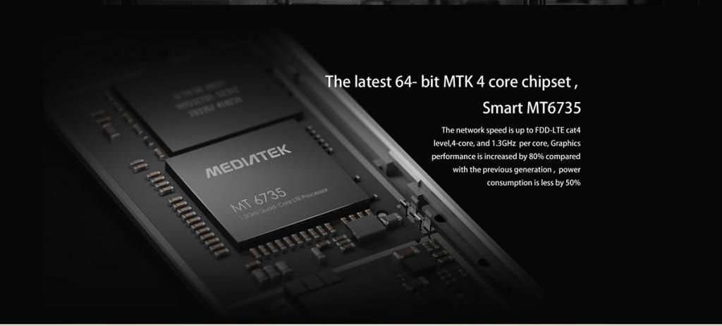Cubot X15 SoC MediaTek MT6735