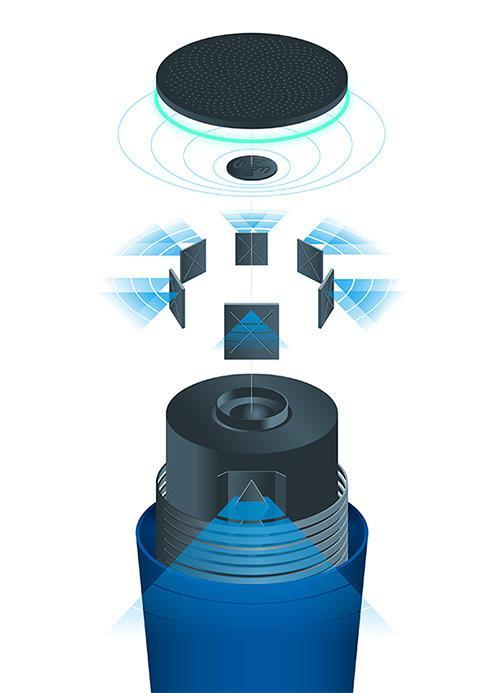 Google OnHub diseño interno
