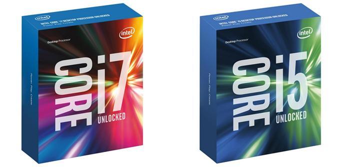 Intel Skylake Cajas