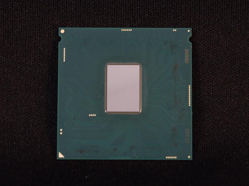 Intel Skylake Delid limpio
