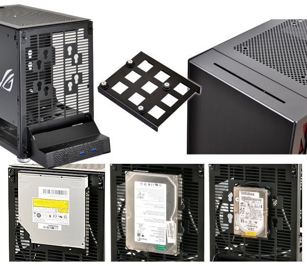 Lian Li PC-Q17 discos duros