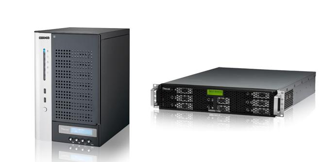 Thecus NAS N7770-10G y N8888U-10G