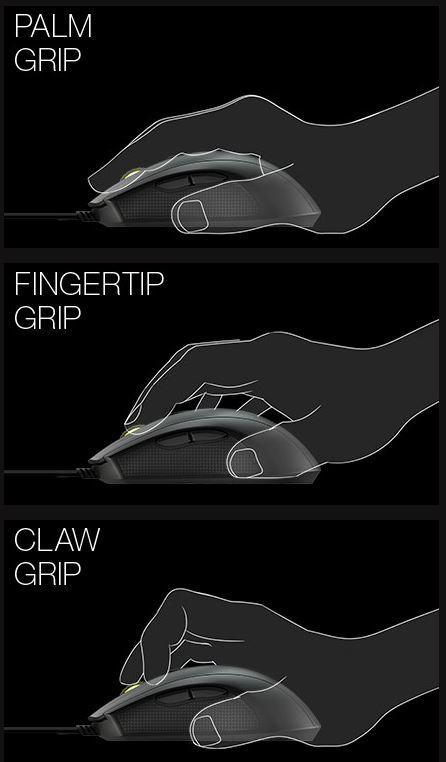 Tipos de agarre