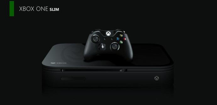 Concepto de la hipotética Xbox One Slim