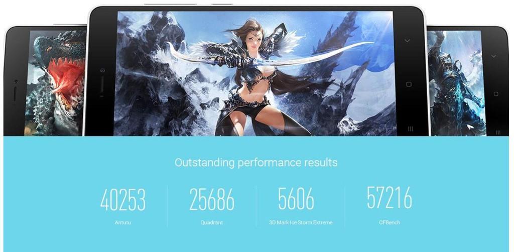 Xiaomi Mi4I Rendimiento