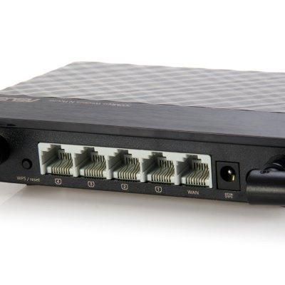 Asus RT-N12 ports