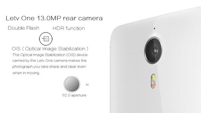 Letv One X600 cámara