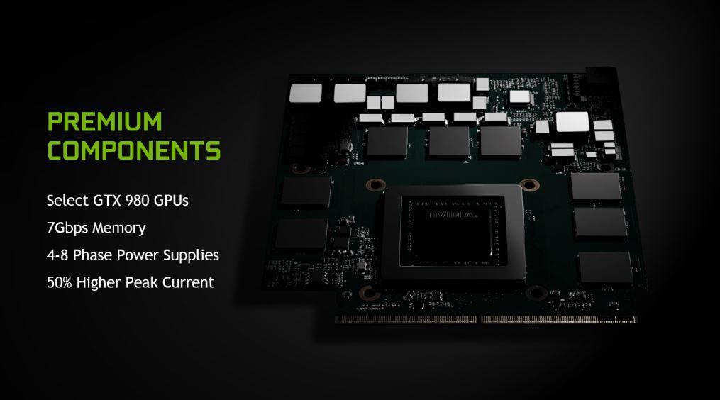NVIDIA GTX 980 Portatil