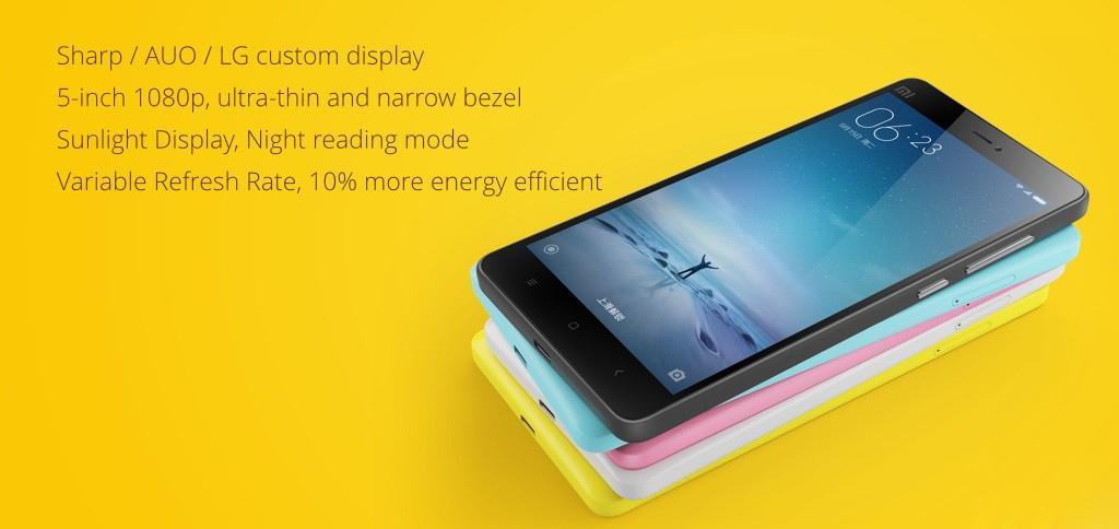 Xiaomi Mi4C pantalla