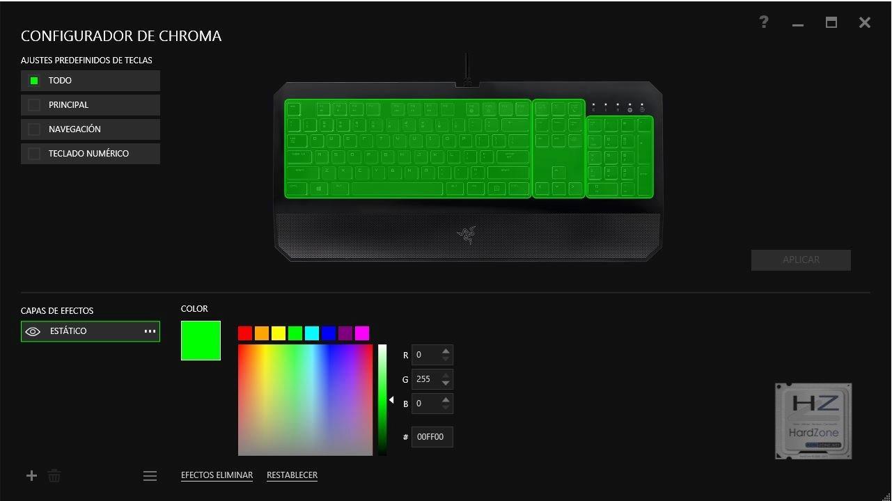 4.- Configurador Chroma
