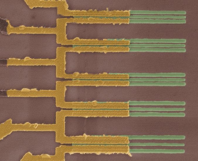 Conexiones nanotubos de carbono