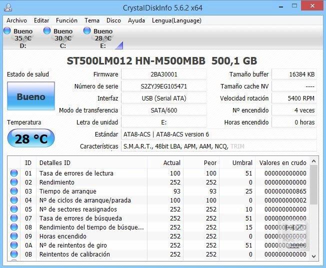 CrystalDisk Info