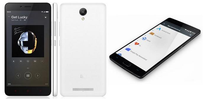 OnePlus Two RedMi Note 2