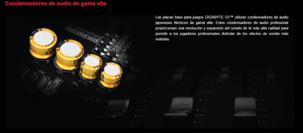 condensadores audio