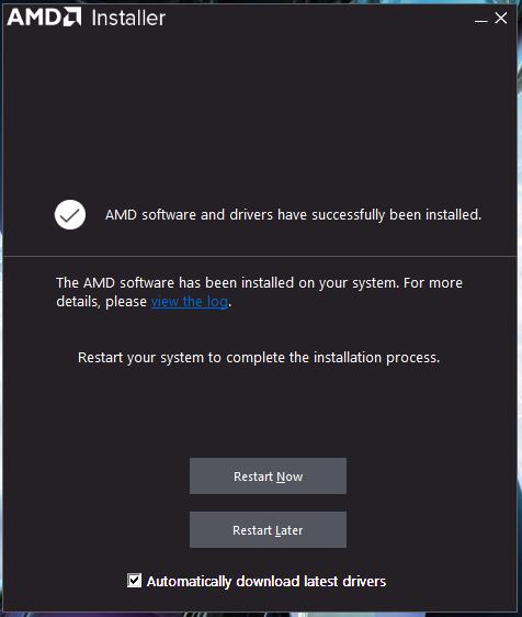 Crimson driver install 02