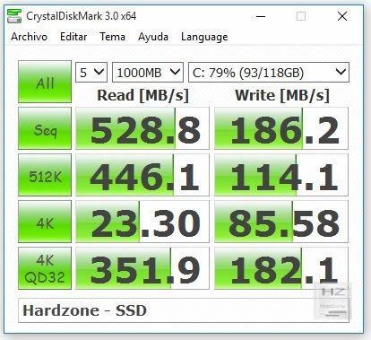 Crystaldisk Mark SSD