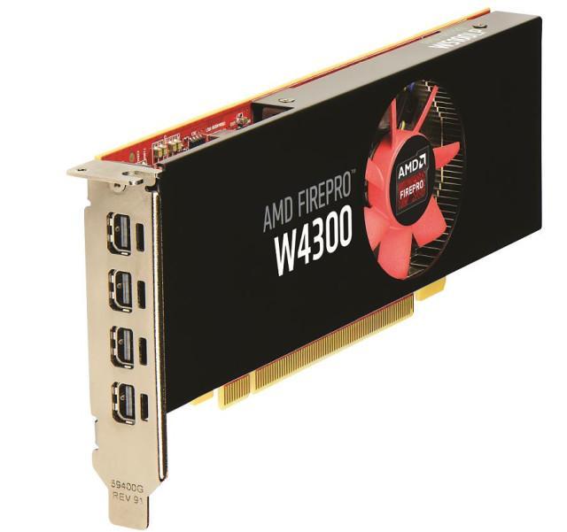 AMD Radeon FirePro W4300 01