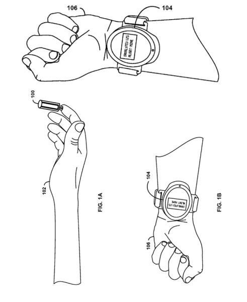 Google smartwatch chupasangre