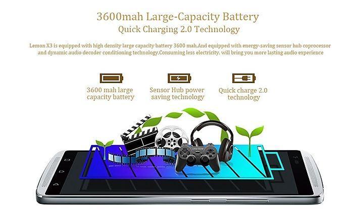 Vibe X3 bateria