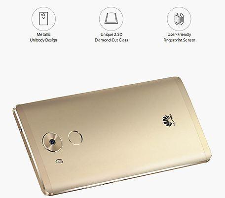 Huawei Mate 8 design