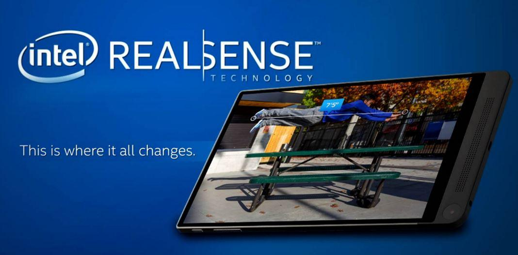 Intel RealSense tablet