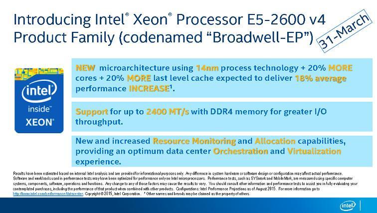 Intel Xeon Leak