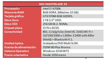 Nightblade 2 specs
