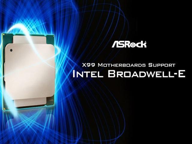 ASRock Broadwell-E Support
