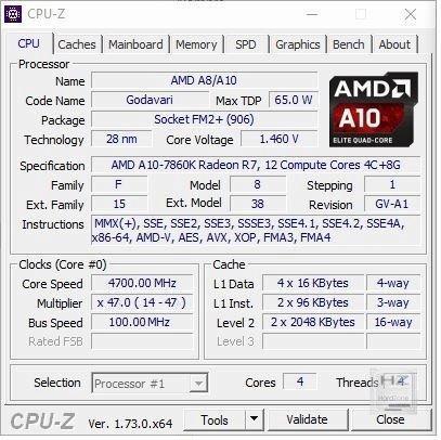 CPU-Z OC