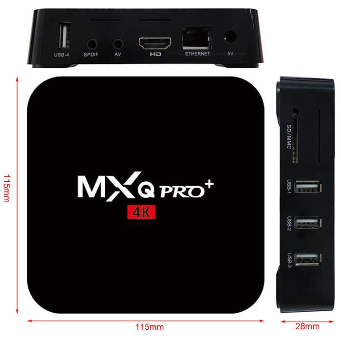 MXQ Pro dimensiones