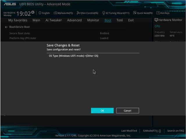 microsoft mete la pata con el uefi de asus en windows 7