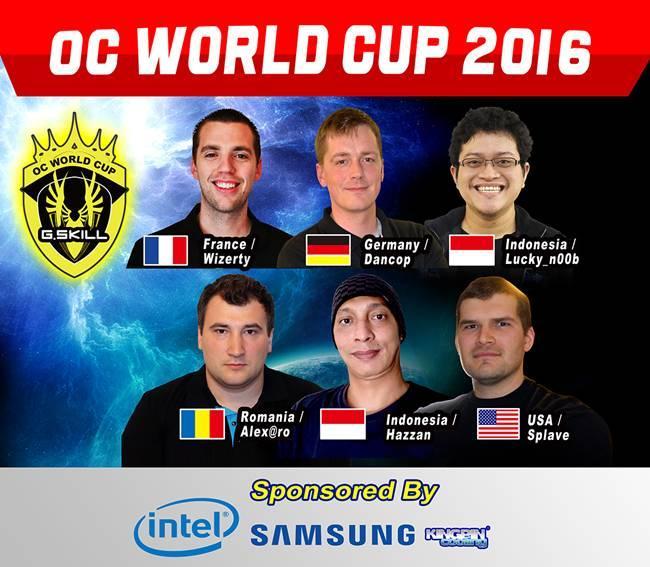 G.Skill OC World Cup 2016