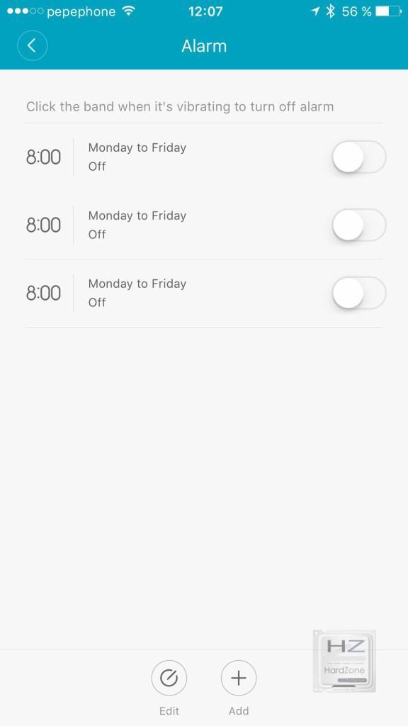 11.- Alarmas