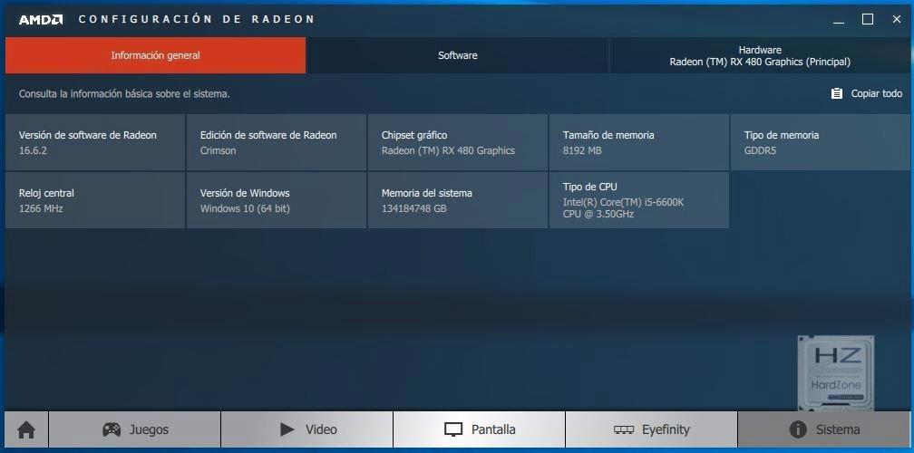 Radeon Settings