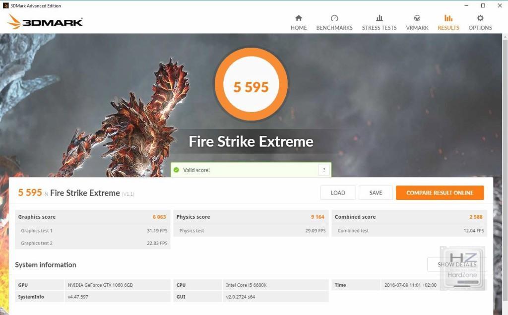 3DM FS Extreme