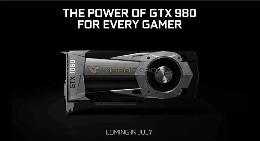 GTX 1060 presentación