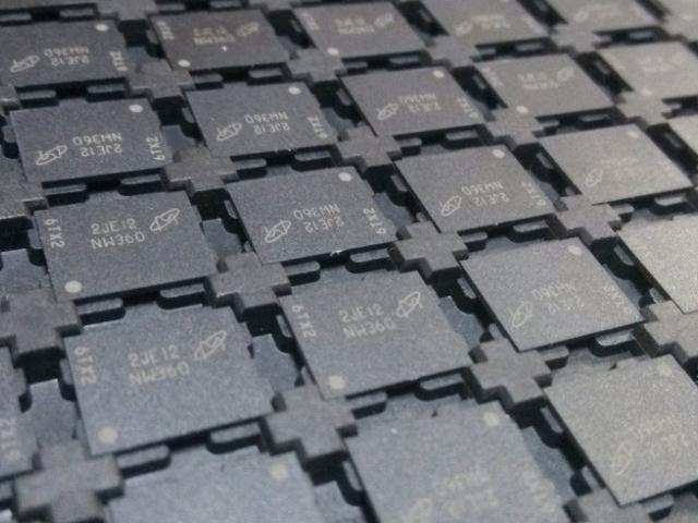 Micron SLC NAND Flash memory