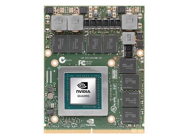 Nvidia Quadro mobile 01