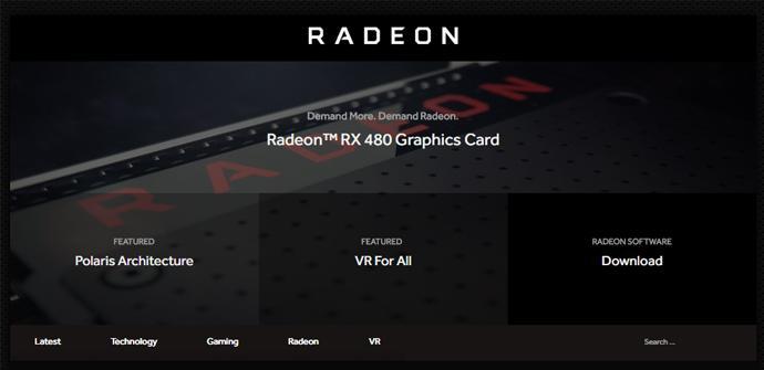 Radeon web