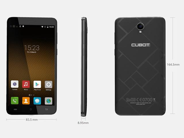 Cubot Max 4G 06