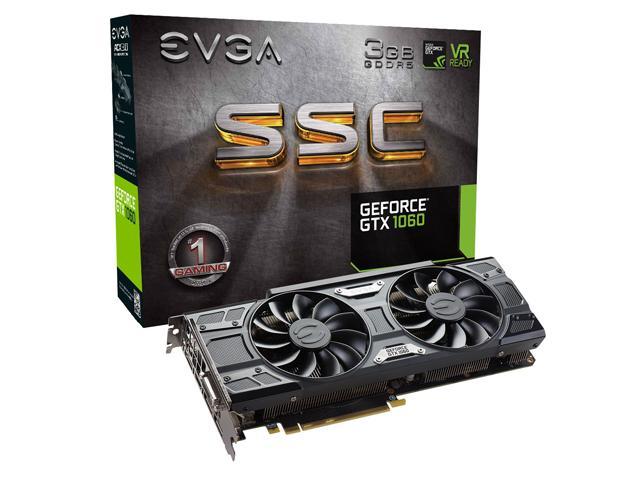 Recopilación de lanzamientos de Nvidia Geforce GTX 1060 3GB.