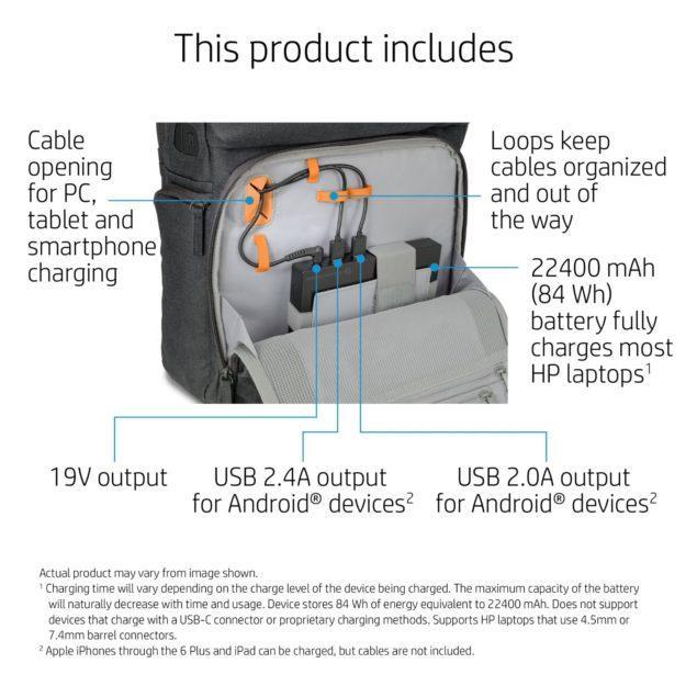 HP Powerpack datos