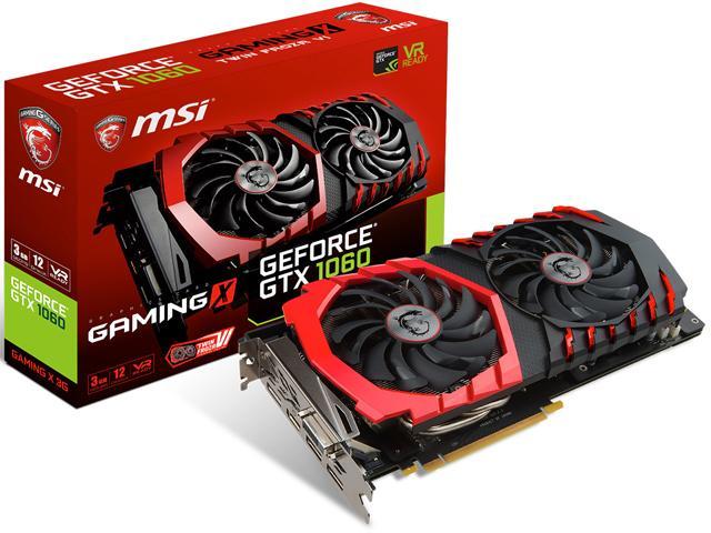 MSI Geforce GTX 1060 3GB GamingX