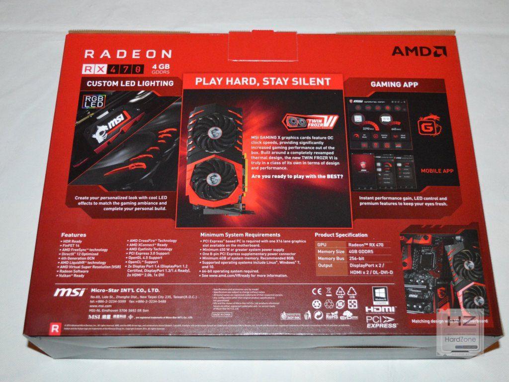 MSI Radeon RX 470 -002