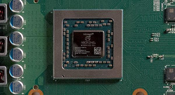 Xbox One S chip