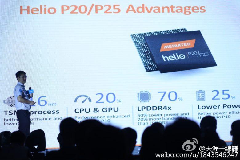 Helio P20, 25 presentation