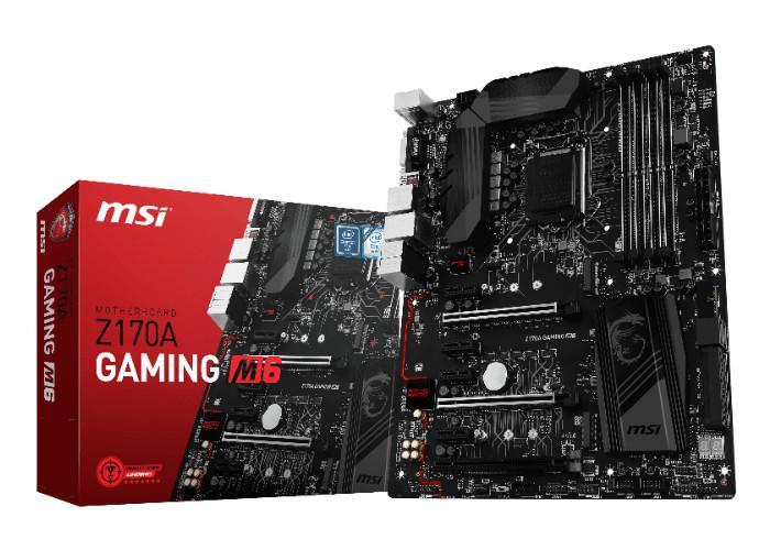 MSI Z170A Gaming M6 01